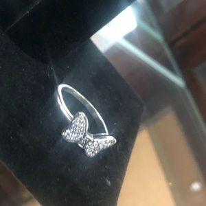 "Pandora Jewelry - Pandora ""Bow"" Sterling Silver Ring"